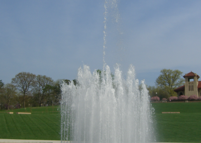 The iconic Kerth fountain in Forest Park.