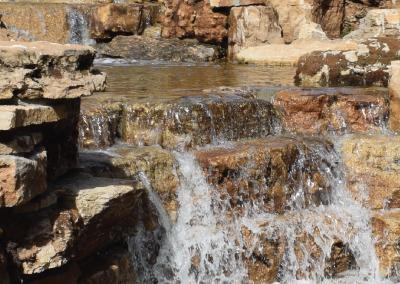 Chapman Shaw Park waterfall