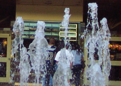 interactive fountain